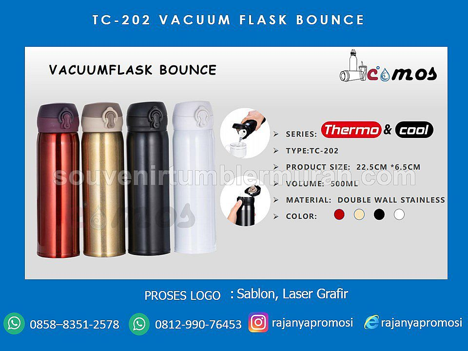 VACUUM FLASK BOUNCE TC-202